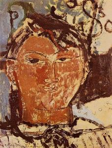 Amedeo Modigliani - Portrait of Pablo Picasso