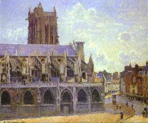 Camille Pissarro - The Church of St. Jacques at Dieppe