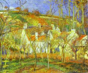 Camille Pissarro - The Red Roofs