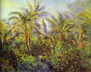 Claude Monet - Garden at Bordighera, Morning. (Jardin Ó Bordighera, effet du matin)
