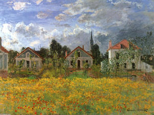 Claude Monet - Houses at Argenteuil