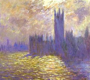 Claude Monet - Houses of Parliament, London