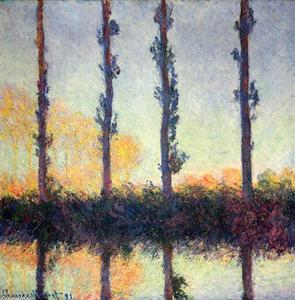 Claude Monet - Poplars (Four Trees)