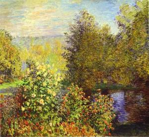Claude Monet - The Corner of the Garden at Montgeron