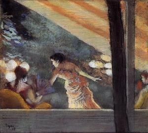 Edgar Degas - At the Cafe des Ambassadeurs