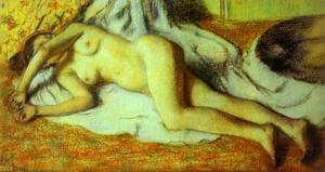 Edgar Degas - Bather Streched Out on the Floor