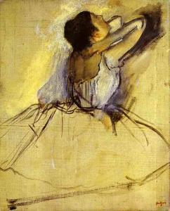 Edgar Degas - Dancer (Danseuse)
