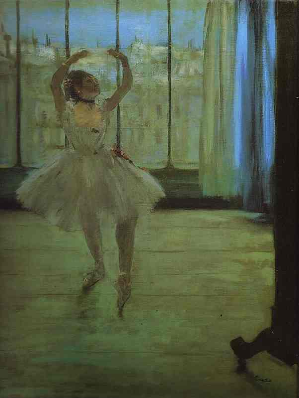 famous painting Dancer at the Photographer's of Edgar Degas