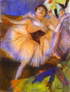 Edgar Degas - Sitting Dancer (Danseuse assise)