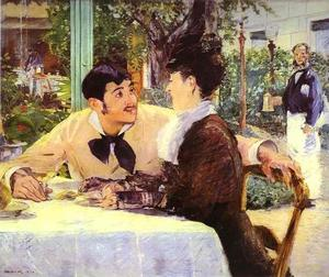 Edouard Manet - At Père Lathuille's