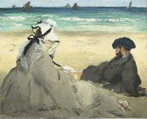 Edouard Manet - At the Beach
