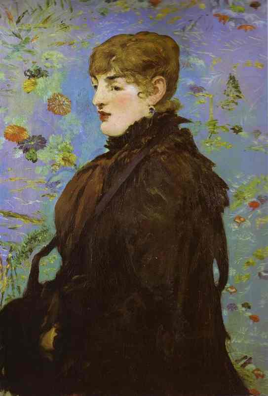 famous painting Autumn (Méry Laurent) of Edouard Manet