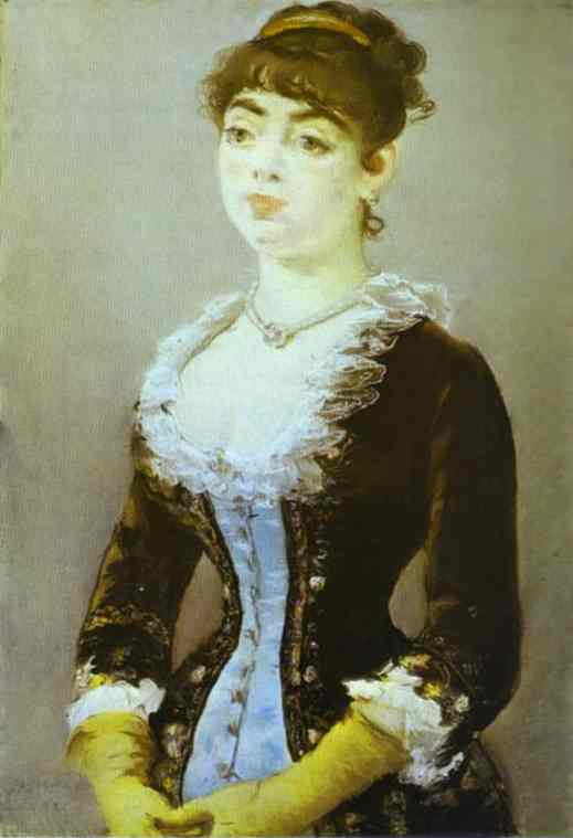 famous painting Madame Michel-Levy of Edouard Manet