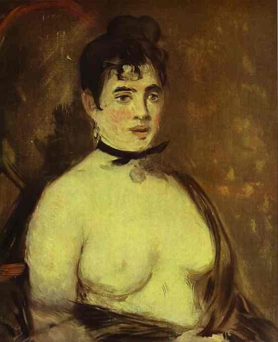 famous painting Nude of Edouard Manet
