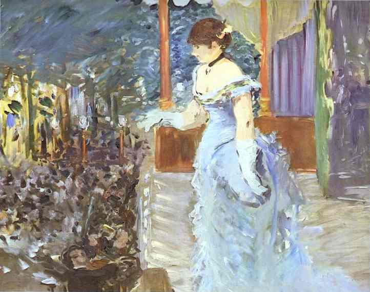 famous painting Singer at a Café-Concert of Edouard Manet