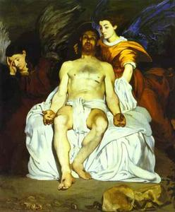 Edouard Manet - The Angels at Christ's Tomb. (Les Anges au tombeau du Christ, Le Christ mort aux anges)