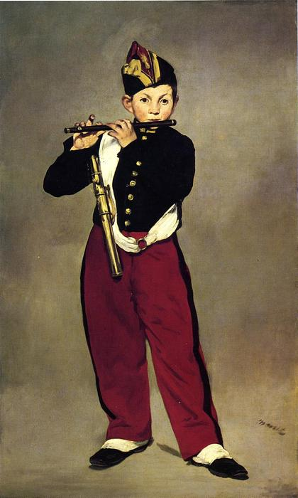 famous painting The Fifer of Edouard Manet