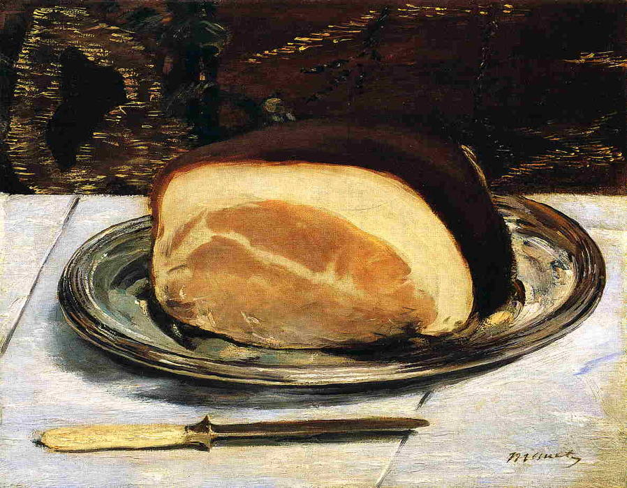 famous painting The ham of Edouard Manet