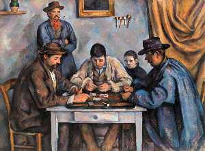 Paul Cezanne - The Card Players (Barnes)