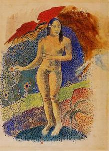 Paul Gauguin - Tahitian Eve