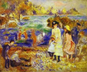 Pierre-Auguste Renoir - Children on the Beach of Guernesey