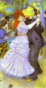 Pierre-Auguste Renoir - Dance at Bougival (Suzanne Valadon and Paul Lhote)