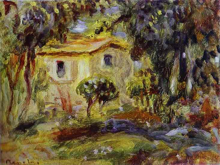Order Paintings Reproductions Impressionism | Landscape by Pierre-Auguste Renoir | TopImpressionists.com