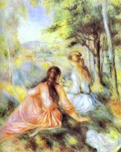 Pierre-Auguste Renoir - On the Meadow