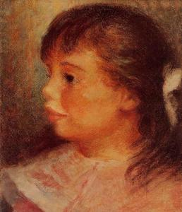 Pierre-Auguste Renoir - Portrait of a Girl