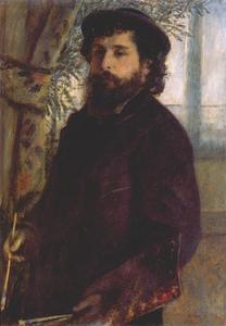Pierre-Auguste Renoir - Portrait of Claude Monet