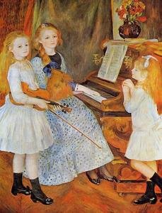 Pierre-Auguste Renoir - The Daughters of Catulle Mendes