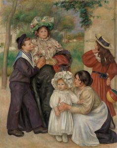 Pierre-Auguste Renoir - The Family of the Artist