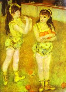 Pierre-Auguste Renoir - Two Little Circus Girls
