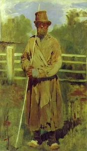 Victor Vasnetsov - Peasant with a Pole