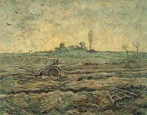 Vincent Van Gogh - Plough and the Harrow after Millet, The