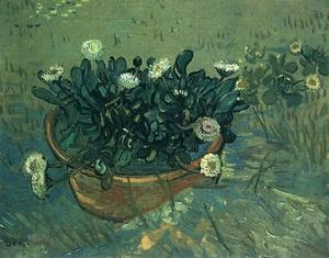 Vincent Van Gogh - Still Life Bowl with Daisies