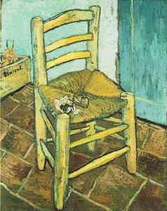 Vincent Van Gogh - Vincent's Chair with His Pipe