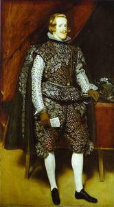 Diego Velazquez - Philip IV in Brown and Silver