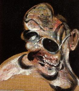 Francis Bacon - portrait of man with glasses iii, 1963