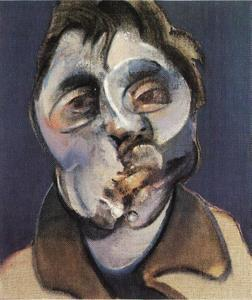 Francis Bacon - self-portrait, 1969