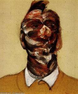 Francis Bacon - three studies for portrait of george dyer c 1966