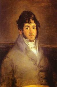 Francisco De Goya - Portrait of the Actor Isidro Meiquez
