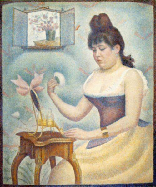 famous painting powdering of Georges Pierre Seurat
