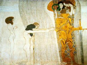 Gustav Klimt - The Beethoven Frieze, 1902 - Secession Building, Vienna