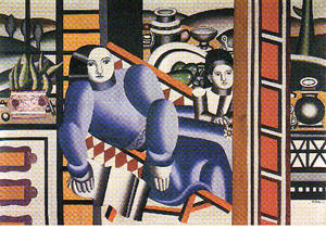 Fernand Leger - The woman and child