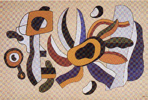 Fernand Leger - The flower polychrome