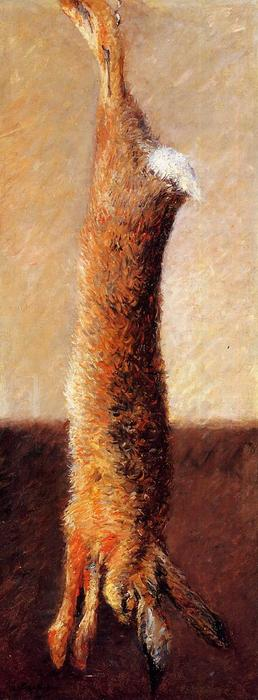 famous painting Hare of Gustave Caillebotte