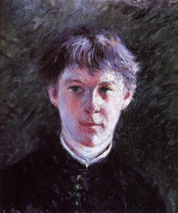 famous painting Portrait of a Schoolboy of Gustave Caillebotte