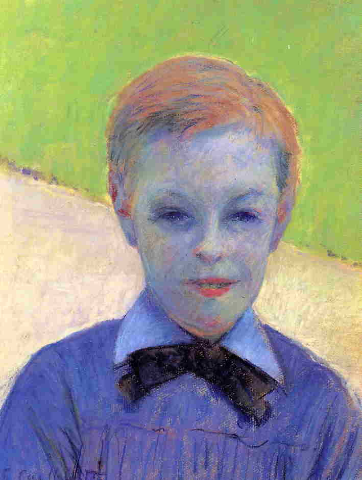 famous painting Portrait of Camille Daurelle of Gustave Caillebotte