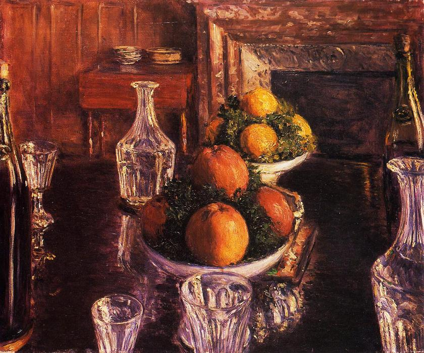 famous painting Still Life of Gustave Caillebotte